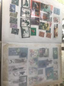 文革纪特邮票一本