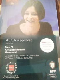 ACCA P5 Advanced Performance Management Study Text