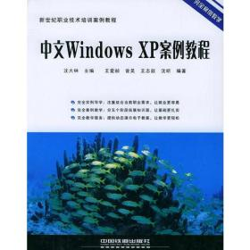 中文Windows XP案例教程/新世纪职业技术培训案例教程