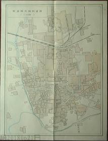 地图-胶县城区地形图