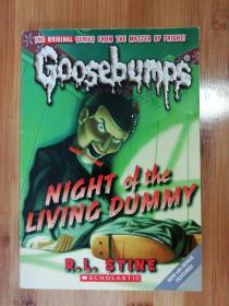Goosebumps  鸡皮疙瘩  ——Night of the living dummy