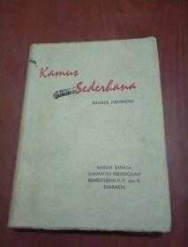 印尼文辞典