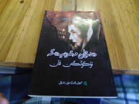 点在 麦西热甫诗集 上的血 维吾尔文