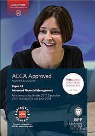 ACCA P4 Advanced Financial Management-练习册9781509708642