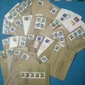 九十年代实寄封30张合售