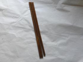 保真!民国毛笔3支(未使用)、贡品鸡狼毫、文源斋