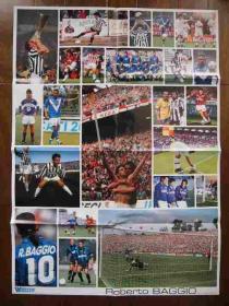 巴乔职业生涯全纪录超大海报
