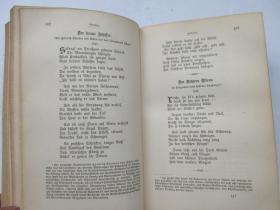 皮装/书顶刷金/圣经纸印刷/德国浪漫派作家《霍夫曼选集》(含《金罐》、《胡桃夹子》、《丝瞿戴莉小姐》、《小扎赫斯》、《跳蚤师傅》、《布拉姆比拉公主》、《魔鬼的琼浆》等 E.T.A. HOFFMANNS WERKE(DER GOLDNE TOPF / DIE AUTOMATE / NU?KNACKER / KLEIN ZACHES / FRAULEIN SCUDERI / MEISTER FLOH