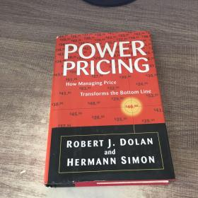 Power Pricing: How Managing Price Transforms the Bottom Line 定价圣经