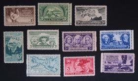 美国邮票-----早期邮票一组