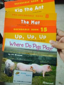 英文绘本7册:Where Do Pigs Play_Up, Up, Up_The Mat_Kip the Ant_The Dog_Hot Soup_I Have,You Have