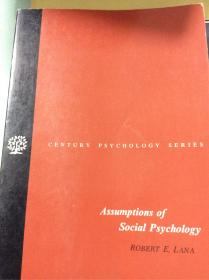 Assumptions of social psychologe 社会精神分析论著