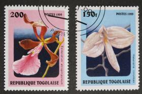 多哥邮票-----植物(盖销票)