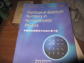 非相对论物理学中的拓扑量子数 英文版馆藏