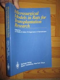 Microsurgical Models in Rats fo