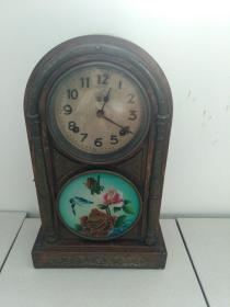 100年左右的东洋马球牌老座钟,极少见的收藏品