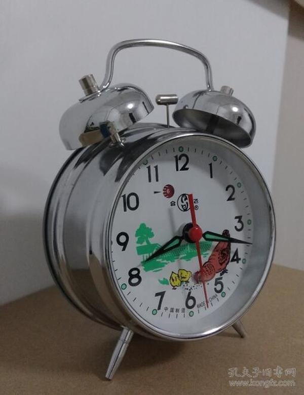 小闹钟机械闹钟