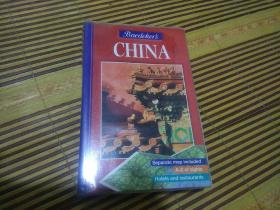 2000年,英文版,CHINA,32开图文彩印,附赠英文版中国大地图(2开)
