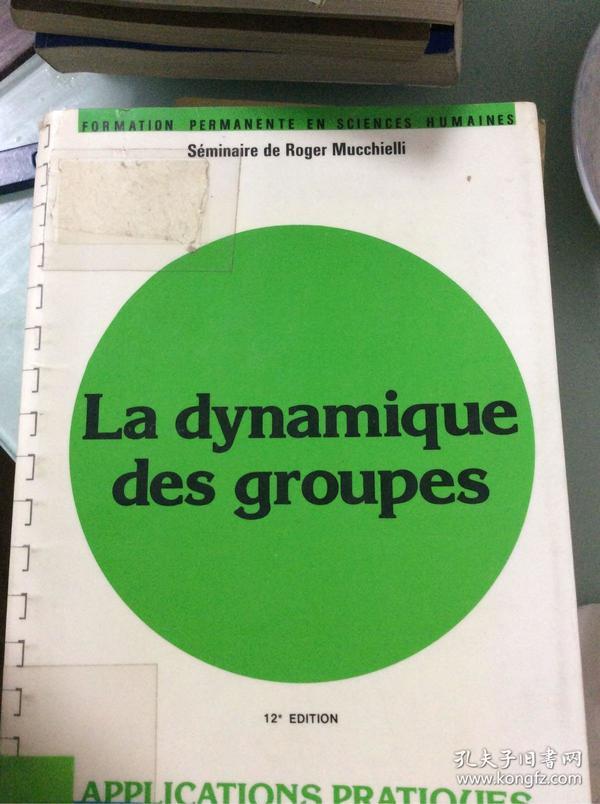 La dynamique des groupes 活跃的团队