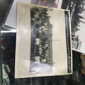 欢送陕西棉纺织公司傅经队全体同志合影留念(1966.7.18)