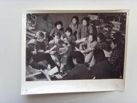 """老照片:【※1966年,山西太原矿山机器厂,""""刘胡兰""""小组※】"""