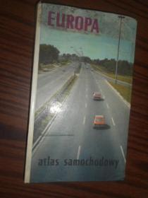 EUROPA-atlas samochodowy 地图册