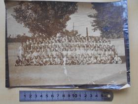 老照片【南京市许府巷小学1964年毕业生合影】尺寸:21.7×15.6厘米