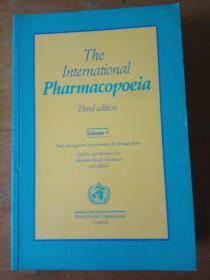 The International Pharmacopoeia (third edition volume5)