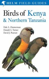 Birds of Kenya and Northern Tanzania (Helm Field Guides) 中非鸟类