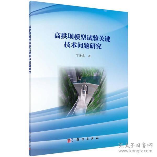 高拱坝模型试验关键技术问题研究