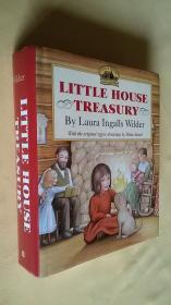 大精装Little House Treasury: Little House in the Big Woods /on the Prairie / On the Banks of Plum Creek