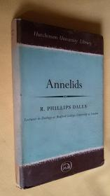 英文原版 精装 Annelids BY R.PHILLIPS DALES