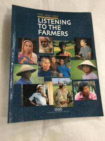IRRI 1995-1996 LISTENING TO THE FARMERS(英文版)