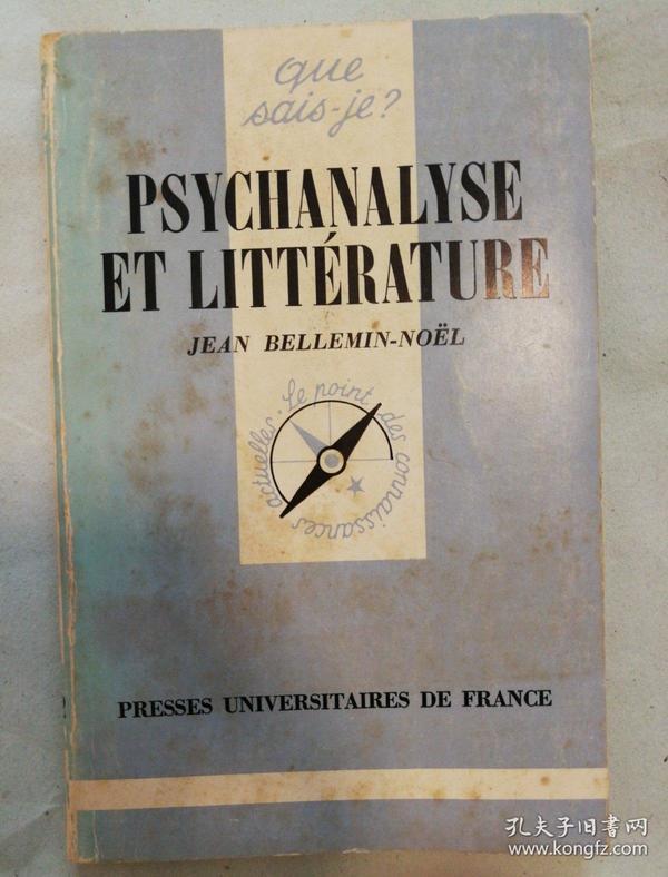 Psychanalyse et litterature (que sais-je? 我知道什么?丛书)
