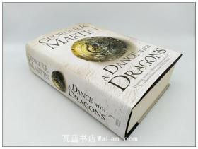 《冰与火之歌》第5册 魔龙的狂舞 A Dance with Dragons:Book 5 of A Song of Ice and Fire 英文原版 精装大本