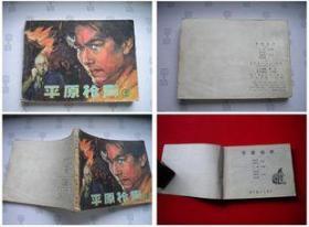 《平原枪声》第2册,辽美1984.3一版二印。6017号,连环画