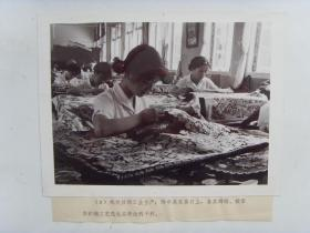 老照片:【※1978年浙江杭州市,杭州丝绸业※】