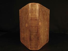 19世纪英文版《世界各宗教之教义》 出版年代:1824年 本书对世界各宗教的起源、教义、文学、历史、风俗习惯作了详尽的叙述,主要集中于基督教、犹太教、伊斯兰教和异教徒,清楚的说明了这些宗教之间的差异