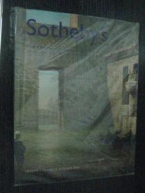 Sothebys 苏富比伦敦2003年10月: THE TRAVEL SALE PICTURES AND NEAR&MIDDLE EASTERN BOOK AND MAPS
