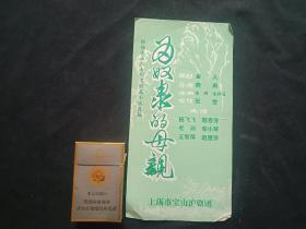 上海市宝山沪剧团//为奴隶的母亲