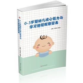 0~3岁婴幼儿核心能力与学习进程观察量表