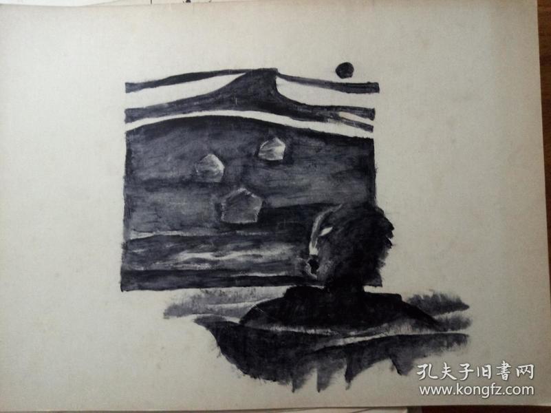 原创黑白画11