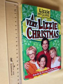 英文原版童书  A Very Lizzie Christmas