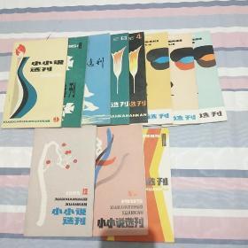 小小说选刊1985年1-12期...少第5册【现存11册】