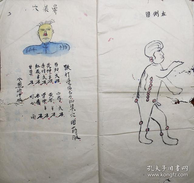 中医古籍手抄本 8