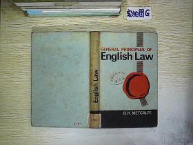 GENERAL PRINCIPLES OF ENGLISH LAW (55)