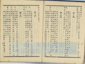 中医古籍手抄本 风流谱 13
