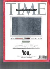 |最佳英语阅读资料最好英语学习资料|英语杂志 TIME 2006年12月25日-2007年1月1日  (年末特刊)