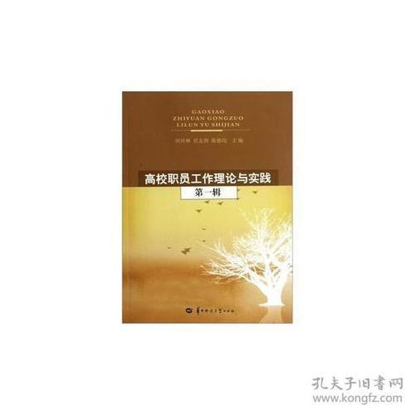 9787562249641高校职员工作理论与实践(第一辑)