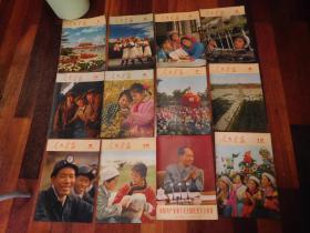 人民画报1973年1—12期(全年)